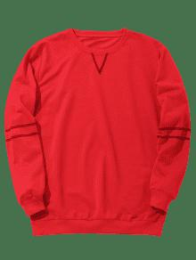 Rojo Stitching Stitching Sweatshirt Mens L Mens x17wHzwq4S