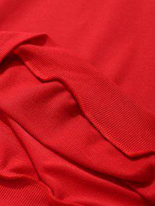 Stitching Mens Stitching Rojo Sweatshirt Rojo L Sweatshirt L Mens Stitching wZXqWxA4v