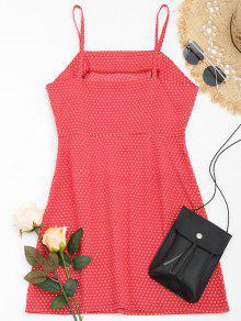 Verano Cami M Vestido Dot Rojo De Polka vqAqwO8gz