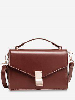 Envelope Mini Cross Body Bag - Coffee