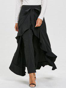 المتدرج كشكش تنورة السراويل - أسود S