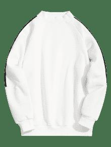Cuello Blanco Lana Sudadera Xl Con Mosquecino Forrado De qpT5HR