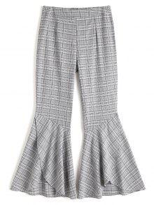Panty Tanded Hem Flare Pants - Verificado Xl