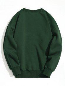 Verde Oscuro Capucha Con Pul 2xl Sudadera 243;ver 6IHcwF