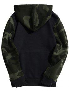 Capucha Con Xl De Fleece Graphic Negro Sudadera Camo Estilo Sq1pS5