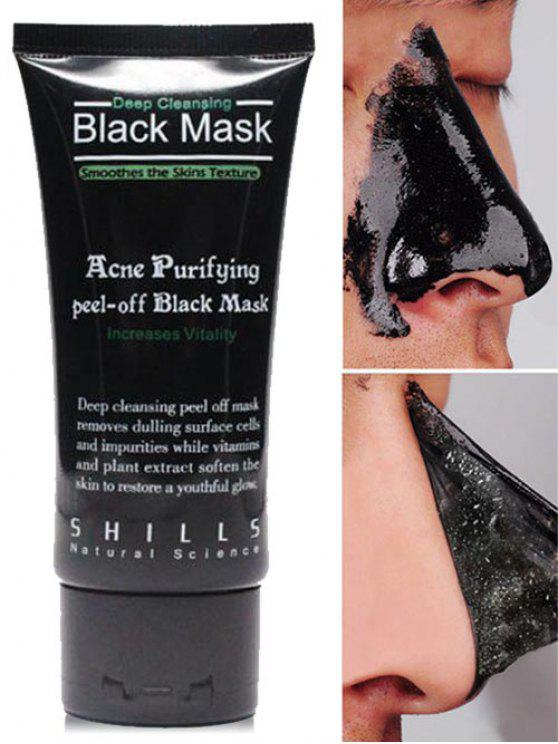 Cuidado del rostro Succión Blackhead Remover Máscara Facial - Negro