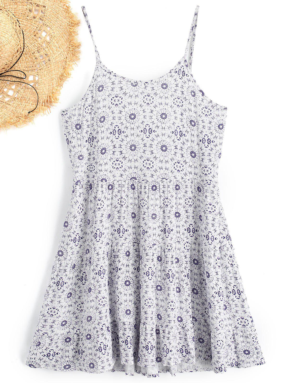 Cami Printed Beach Dress