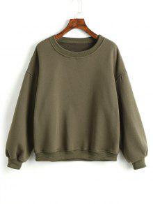 Criss Cross Ribbons Sweatshirt - Bundeswehrgrün S