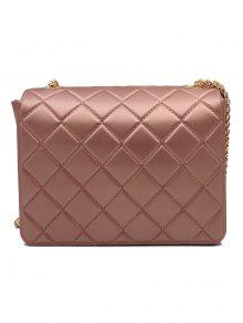 08495844ae 42% OFF  2019 Twist Lock Quilted Chain Crossbody Bag In ROSE GOLD ...
