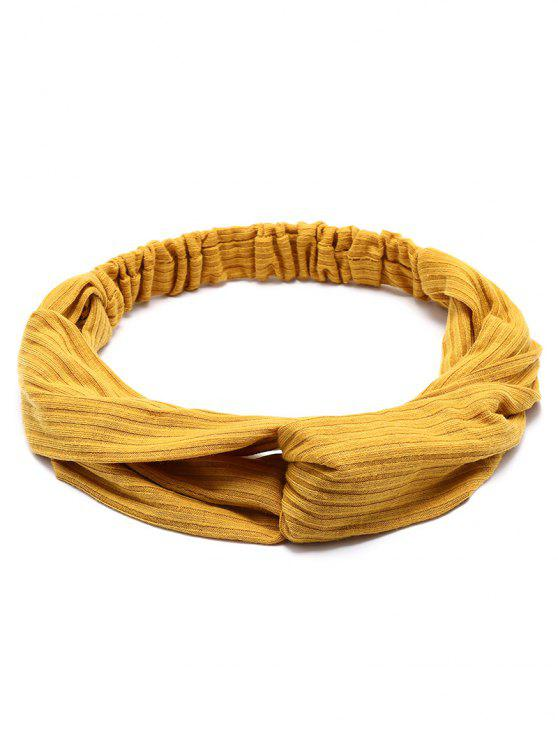 ladies Crochet Elastic Hair Band - GINGER