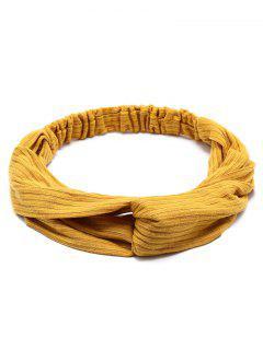 Crochet Elastic Hair Band - Ginger