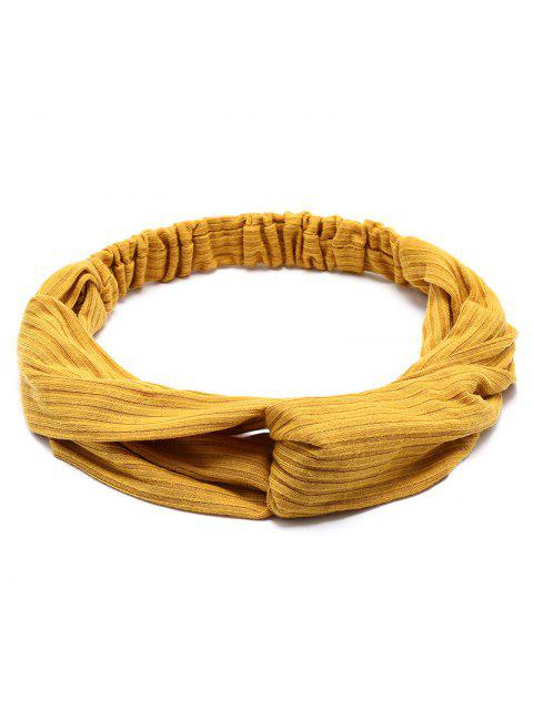 ladies Crochet Elastic Hair Band - GINGER  Mobile