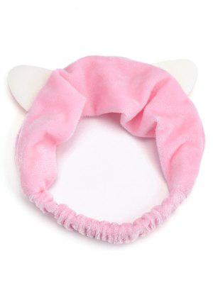 Cute Cat Ears Two Tone Elastic Hair Band