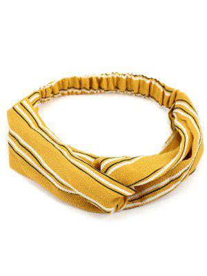 Retro Striped Elastic Hair Band
