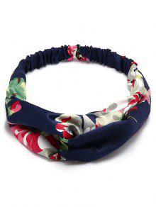 Fascia elastica per capelli multiuso stampata a fiori