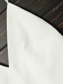 Atado De Trapecio S Vestido Cami Blanco dtqqaP