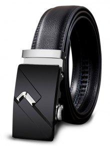 حزام مشبك معدني مزين بحزام معدني من Leathr - 110cm