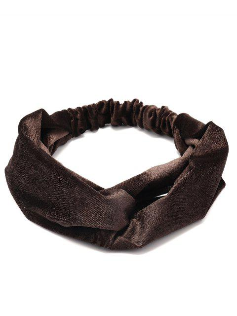online Simple Multi-use Velvet Elastic Hair Band -   Mobile