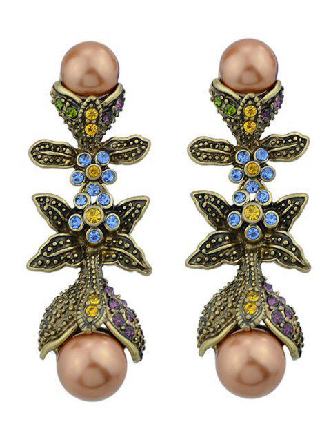 Boucles D'oreilles Bâton de Saint-Valentin avec Fausse Perle - Multicolore  Mobile