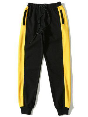Kontrastfarbe Kordelzug Sporthose