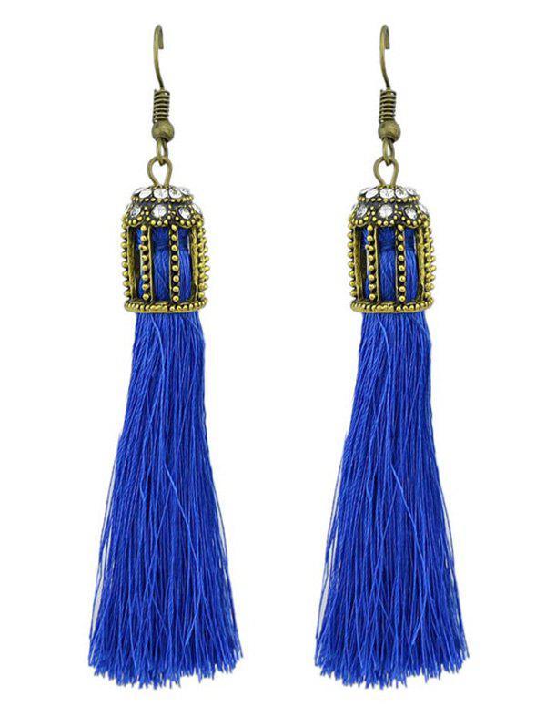 Image of Ethnic Style Fringe Hook Drop Earrings