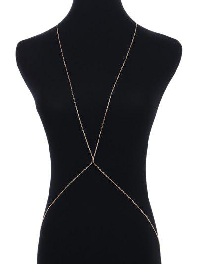 Simple Alloy Body Chain...