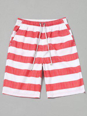 Pantalones cortos a rayas