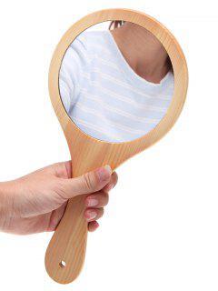 Cosmétique Miroir Pour Maquillage En Bois  - Bois