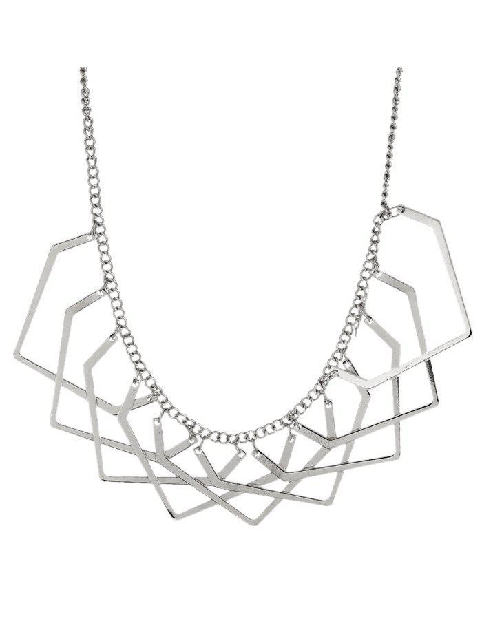 Geometric Charm Necklace