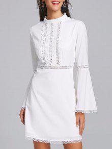 Vestido Flax - Branco 2xl