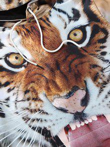 Tiger Sudadera 3D 3xl Con Capucha Print qttP7R0