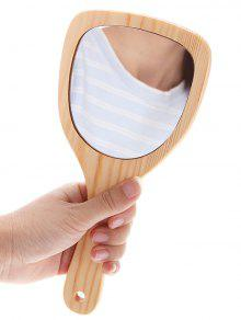 ماكياج أداة خشبية مرآة التجميل - خشب