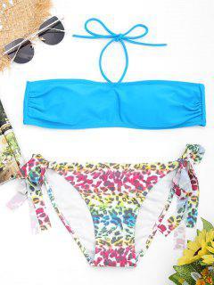 Conjunto De Bikini Palabra De Honor Leopardo - Lago Azul S