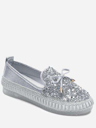 Rhinestone Loafer Shoes...