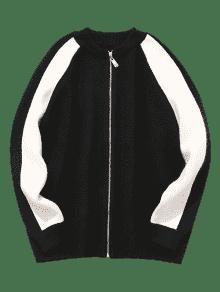 Tejida Negro De Tonos 2xl Dos Chaqueta xTwpfYqw