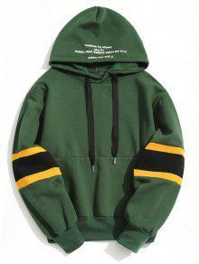 هوديي بلوفر طويلة الأكمام - أخضر M