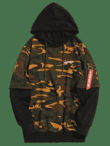 Hombre Pocket Pouch Hoodie Camuflaje De Pullover Ropa Acu 2xl dvqA1wXxqn