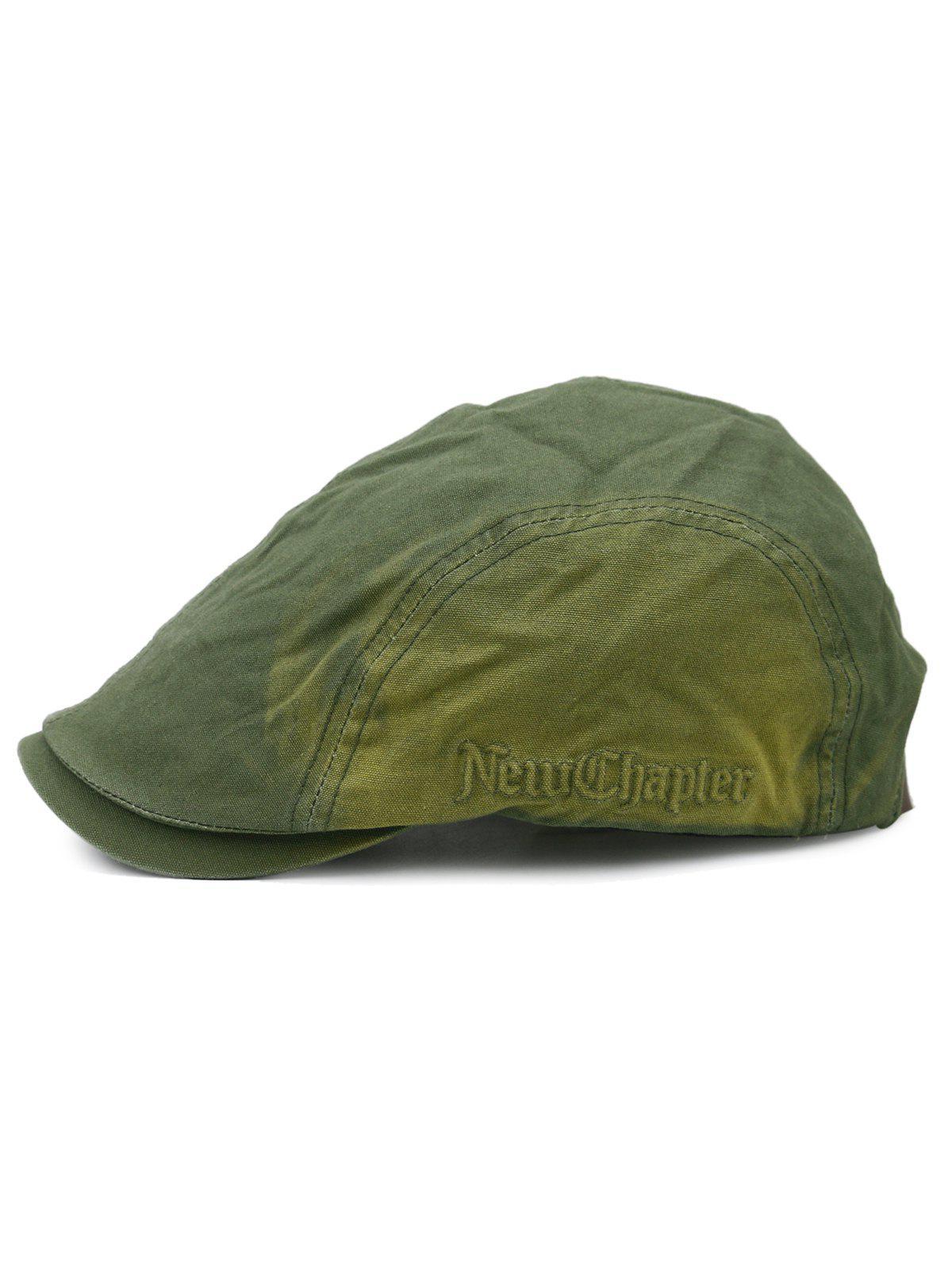 23450e09c Gradient Color Pattern Adjustable Cabbie Hat
