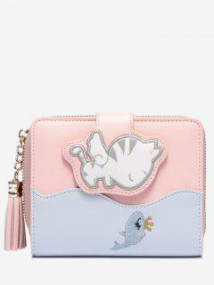 Critters PU Leather Wallet - Pink