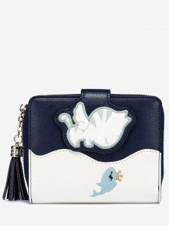 Critters PU Leather Wallet - Blue