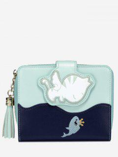 Critters PU Leather Wallet - Green