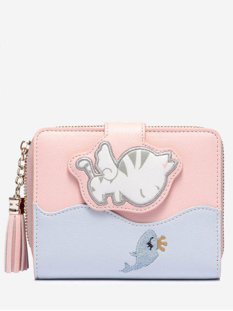 fashion Critters PU Leather Wallet - PINK  Mobile