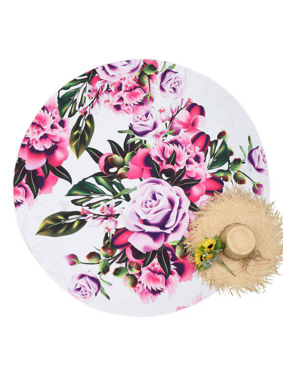 Rose Beach Throw - Floral Única Talla