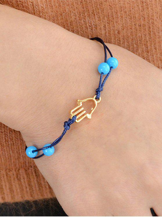 hot Bead Hollow Out Bracelet - GOLDEN