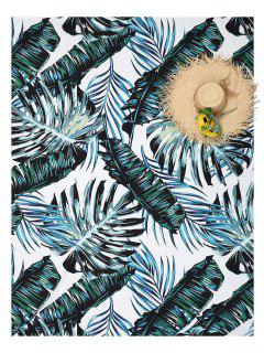 Palm Leaf Beach Throw