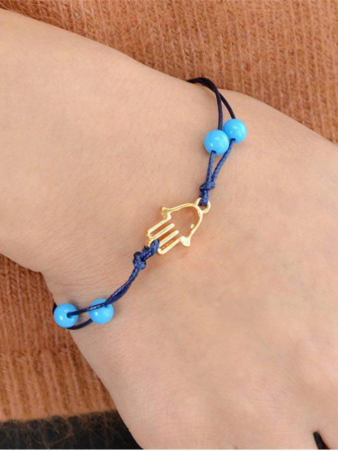 hot Bead Hollow Out Bracelet - GOLDEN  Mobile