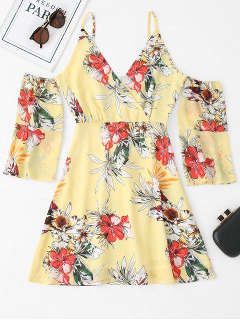 Vestido Cami con hombros descubiertos y estampado floral - Floral M Mobile