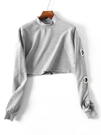 Metallic Rings Sweatshirt...