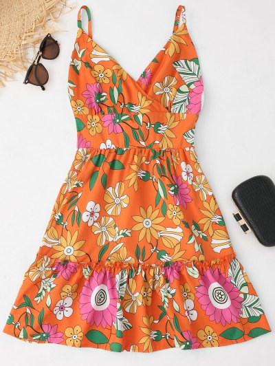 Vestido Floral Sem Costura - Floral S