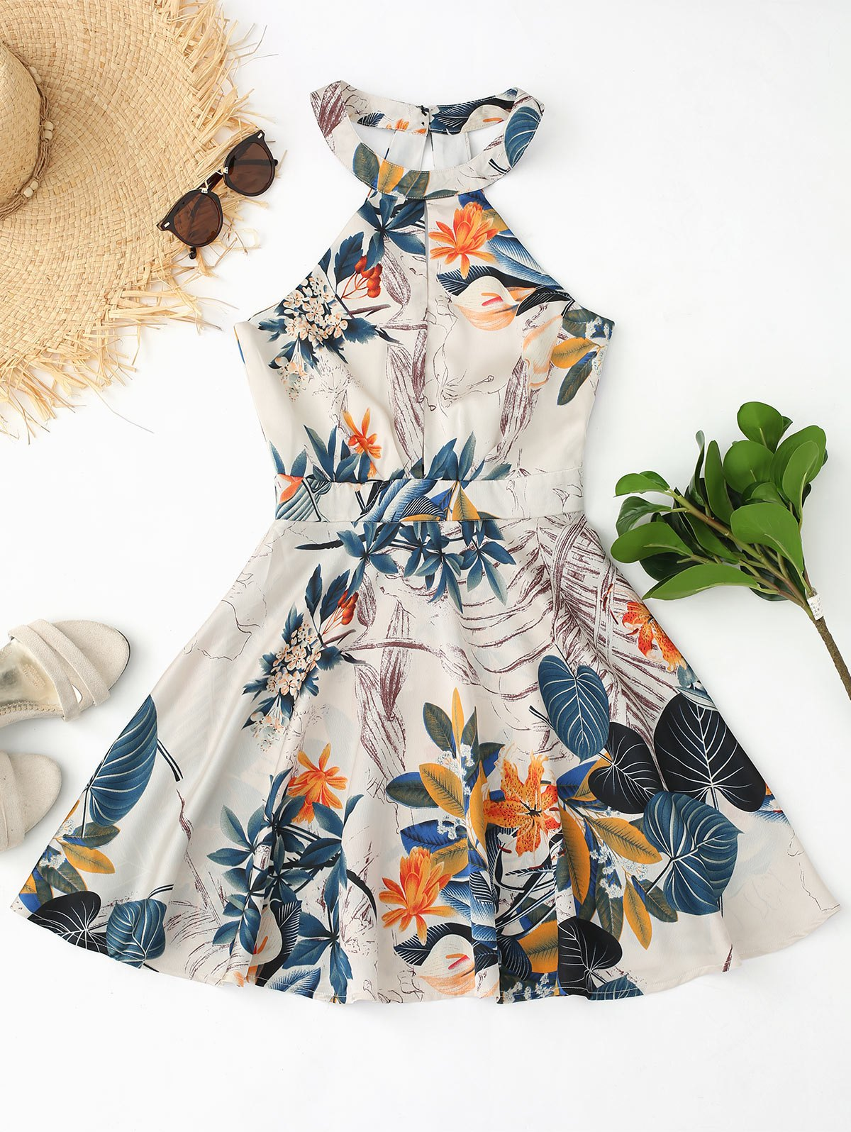 Cut Out Floral Leaves